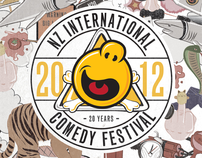 NZ International Comedy Festival 2012
