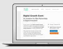 Cisco Digital Growth Event