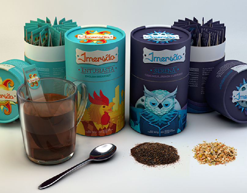 Imersão - Tea packaging concept