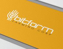 bitfarm logo design project