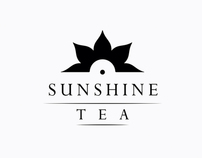 SUNSHINE Tea Sticks Packaging Graphic