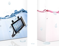 iPad&KIndle waterproof case packaging