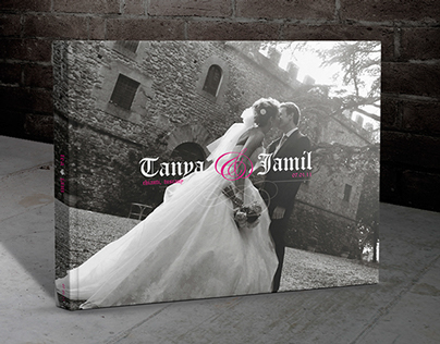 Modern Wedding Album | Tanya & Jamil