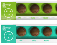 THE HAPPIEST WEEK Chocolate Packaging