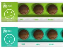 THE HAPPIEST WEEK Chocolate Packaging