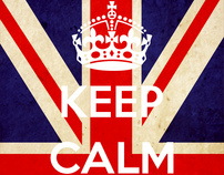 ENGLAND - KEEP CALM