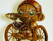 Steampunk Custom Munny