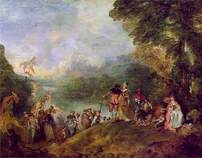Embarkation for Cythera, Antoine Watteau
