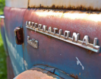 Rusty International Truck
