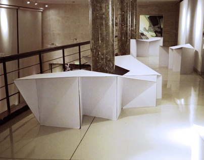 installation of Nemurimuri design market for Hybridart