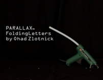 PARALLAX - Folding Letters