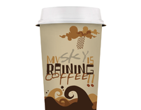 My Sky is Raining Coffee | T-shirts, Cup Design