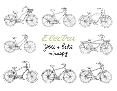 Bicycles Part 2, Electra Bikes