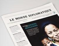 Newspaper – Le Monde Diplomatique