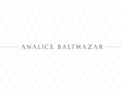 Analice Balthazar - Visual identity