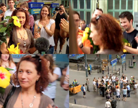 Flashmob 2.0 Budapest, Hungary /MÁV project/
