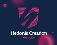 Hedonis Creation website