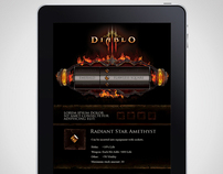 Mobiscroll demo with Diablo III