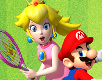 NINTENDO - Mario Tennis Open Display Advertising