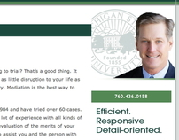 Website Copy: About Me for Attorney David Holnagel