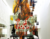 Lost + Found exhibition design