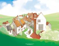 Illustrations for short stories