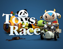 Toys Race - 3D Stereoscopic Movies
