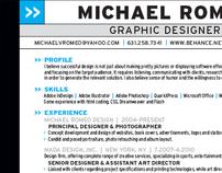 Michael Romeo Resume