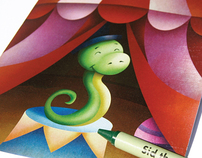 Sid the Serpent Coloring Book