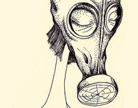 Gas mask girl