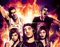 Adventure Club x Krewella Art