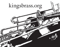 roll up banner displays__Kings Brass