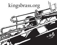 banner displays__Kings Brass