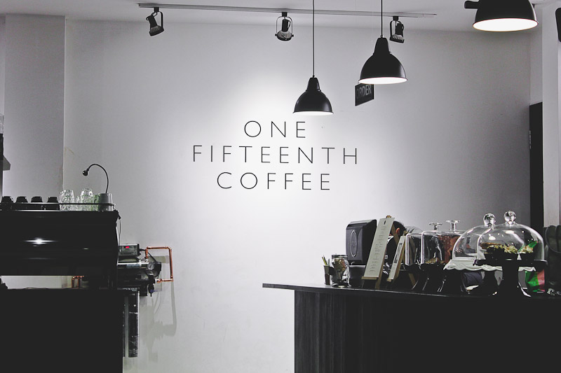 1/15 COFFEE [menu & brochure]