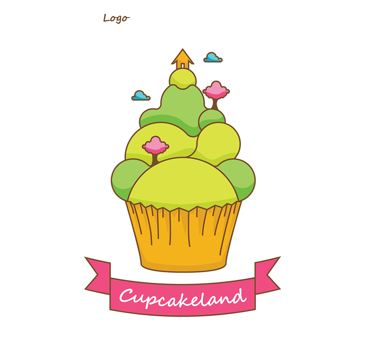 Cupcakeland - Manual de identidade visual