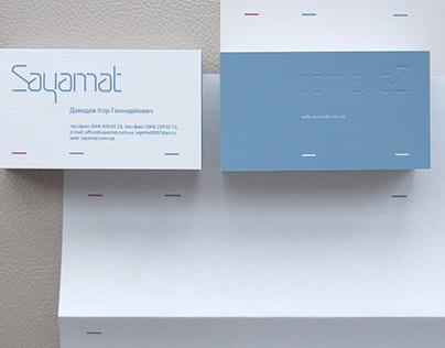 Sayamat / Corporate identity / 2010
