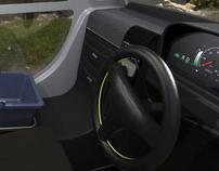 Interior Design | Urban Utility Vehicle
