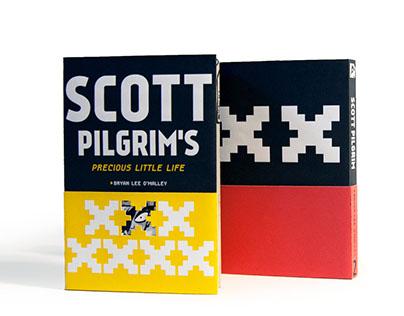 Scott Pilgrim Book Jackets