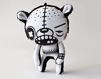 Bully the Alpha Male Designer Plush Toy