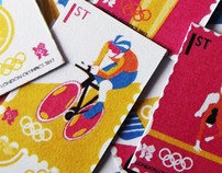 London Olympics 2012 Stamps