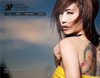 Arnont Pantuleng Phtographer Website and Logo