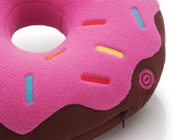 Donuts Massaging Cushion