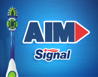UNILEVER: AIM (Signal) Website Design