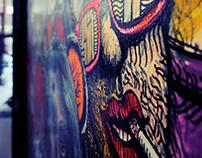 The Stumble Inn Murals