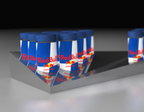 Red Bull Energy Shot Display