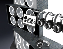 Skull Candy Display
