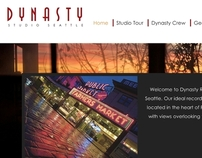 Dynasty Recording Studio Website
