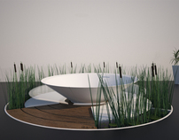 Trinity - The phytofiltration Bathtub/Shower