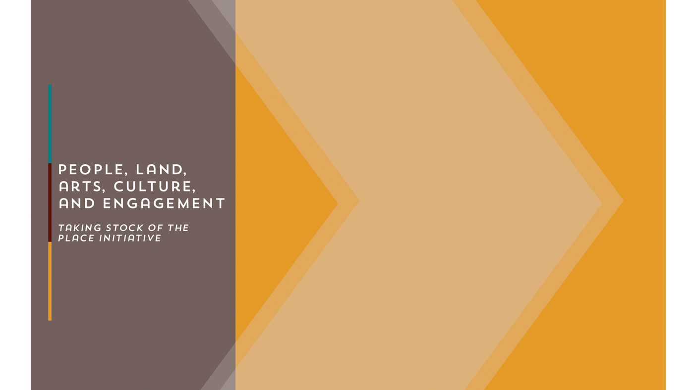 PLACE Initiative Report