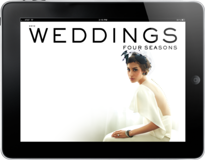 2012 Four Seasons Weddings Magazine - iPad and Android